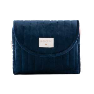 Savanna Velvet Maternity Case Night Blue van Nobodinoz