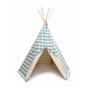 Tipi Arizona Blue Scales van Nobodinoz
