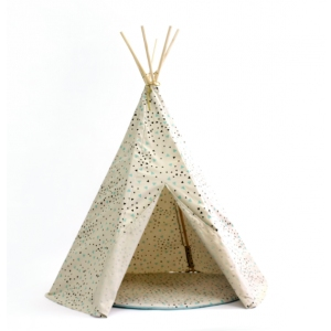 Tipi Arizona Green Black Sparks van Nobodinoz