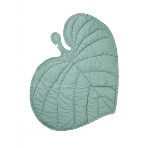 Deken Leaf Blanket Mint Green van Nofred