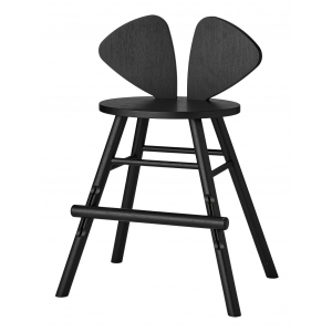 Mouse Chair Junior Black  van Nofred
