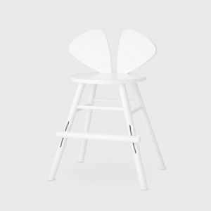 Mouse Chair Junior White van Nofred