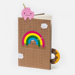 Notebook rainbow van Noodoll