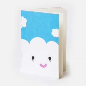 Pocket Notebook Cloud van Noodoll