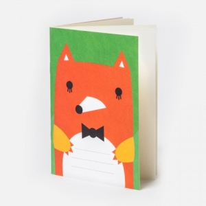 Pocket notebook fox van Noodoll