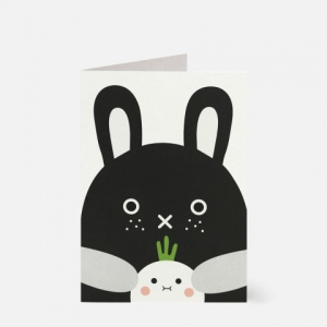 Riceberry Greeting Card van Noodoll