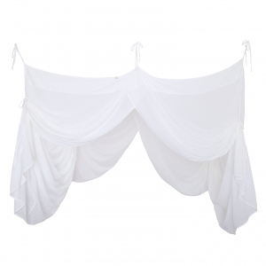 Bed Drape White van Numero 74