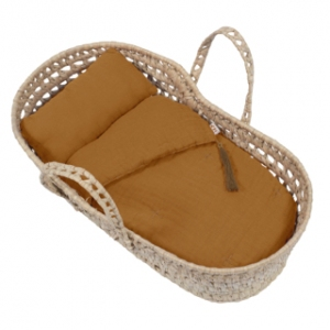 Doll Basket En Bed Linnen Gold van Numero 74