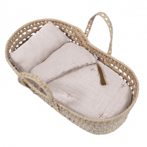 Doll Basket En Bed Linnen Powder van Numero 74