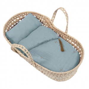 Doll Basket En Bed Linnen Sweet Blue van Numero 74