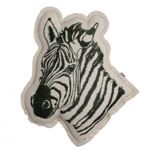 Cushion zebra van Numero 74