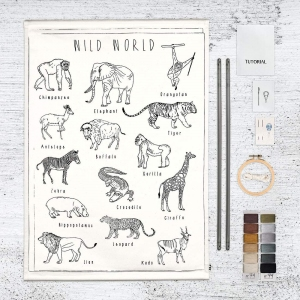 School Poster Kit Wild Animals van Numero 74