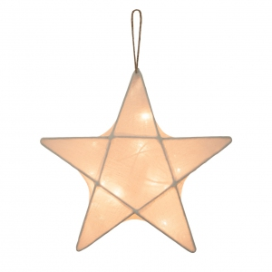Star lantern small natural van Numero 74