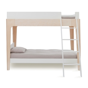 Perch Bunk Bed Wit-Berk van Oeuf Nyc