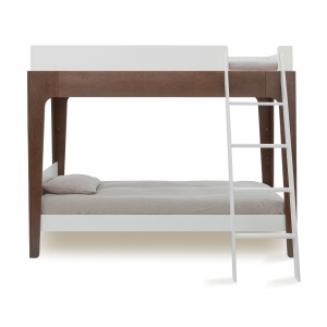 Perch Bunk Bed Wit-Walnoot van Oeuf Nyc