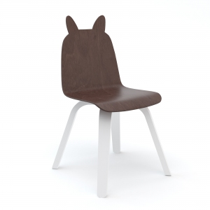 Play Chairs Rabbit Walnoot (Set Of 2) van Oeuf Nyc