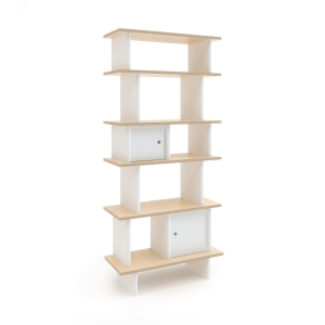 Vertical Mini Library Wit-Berk van Oeuf Nyc