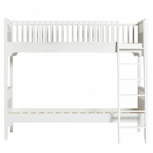 Conversion Kit Bunk Bed With Slant Ladder -> Low Loft Bed  van Oliver Furniture
