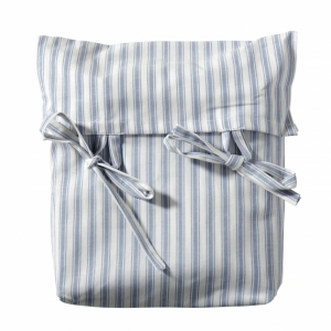 Curtain For Seaside Lille+ Low Loft Bed Blue Striped van Oliver Furniture