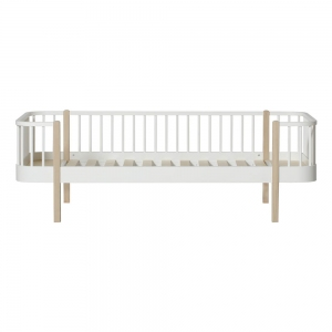 Wood Day Bed 90X200 White-Oak van Oliver Furniture