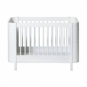 Mini+ Ledikant/Bed 0-9 Jaar White 68X122Cm van Oliver Furniture