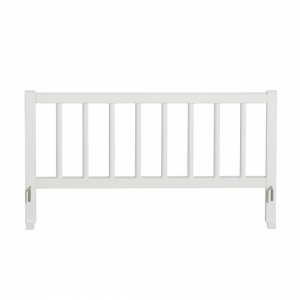 Wood Bed Guard White van Oliver Furniture