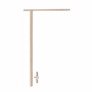 Wood Holder For Bed Canopy & Mobile Oak van Oliver Furniture