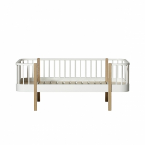 Wood Junior Daybed 90X160 White/Oak van Oliver Furniture