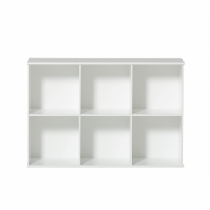 Wood Shelving Unit 3X2  van Oliver Furniture
