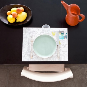 Placemats city  van Omy