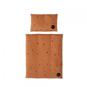 Dot Bedding Caramel  van Oyoy