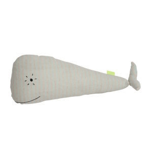 Whale Moby Cushion Offwhite van Oyoy