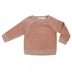 Epaulette Sweater Dusty Blush van Phil & Phae