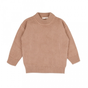 Chunky Knit Sweater Dusty Nude van Phil & Phae