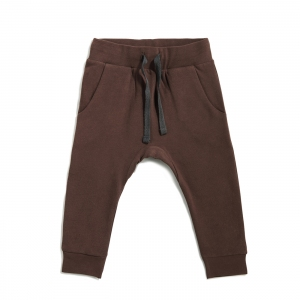 Drop-Crotch Sweat Pants Cocoa van Phil & Phae