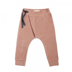 Harem Pants Velvet Dusty Blush van Phil & Phae