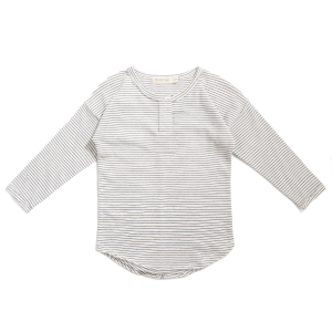 Henley Top Stripe Vanilla Stripe  van Phil & Phae