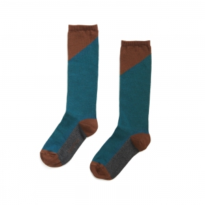 Knee Socks Deep Teal  van Phil & Phae