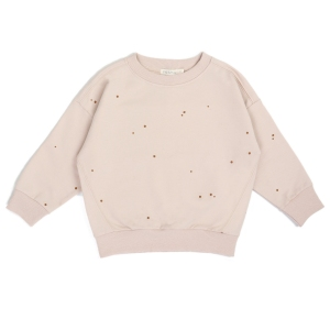 Oversized Summer Sweater Dots Shell van Phil & Phae