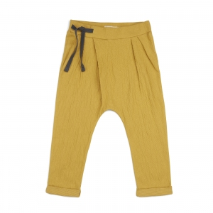 Pleated Harem Pants Dusty Yellow van Phil & Phae