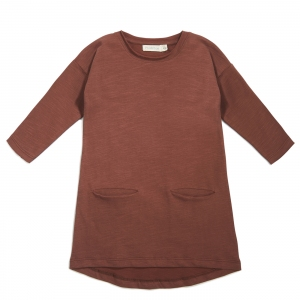Pocket Dress Russet van Phil & Phae