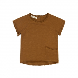 Raw-Edged Tee Gold Chamomile van Phil & Phae