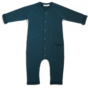 Sweat Jumpsuit Deep Teal  van Phil & Phae