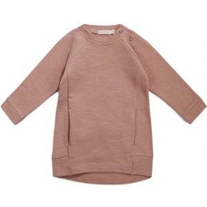 Sweater Dress Slub Dusty Blush van Phil & Phae