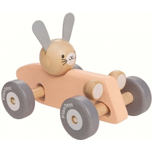 Bunny Racing Car  van Plan Toys