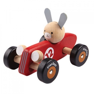 Rabbit Racing Car van Plan Toys