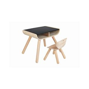 Table & Chair Black  van Plan Toys