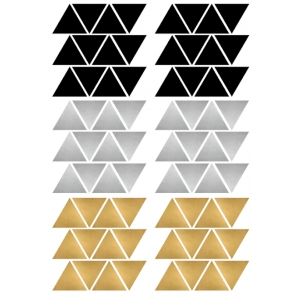 Stickers Triangles Chic van Pöm Le Bonhomme