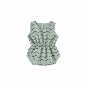 Cinch Playsuit Rolling Waves van Rylee & Cru
