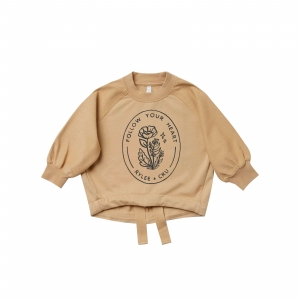 Cinched Sweatshirt Honey van Rylee & Cru
